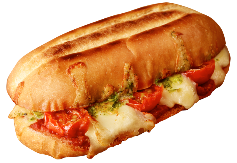 Margherita Pizza Sandwich