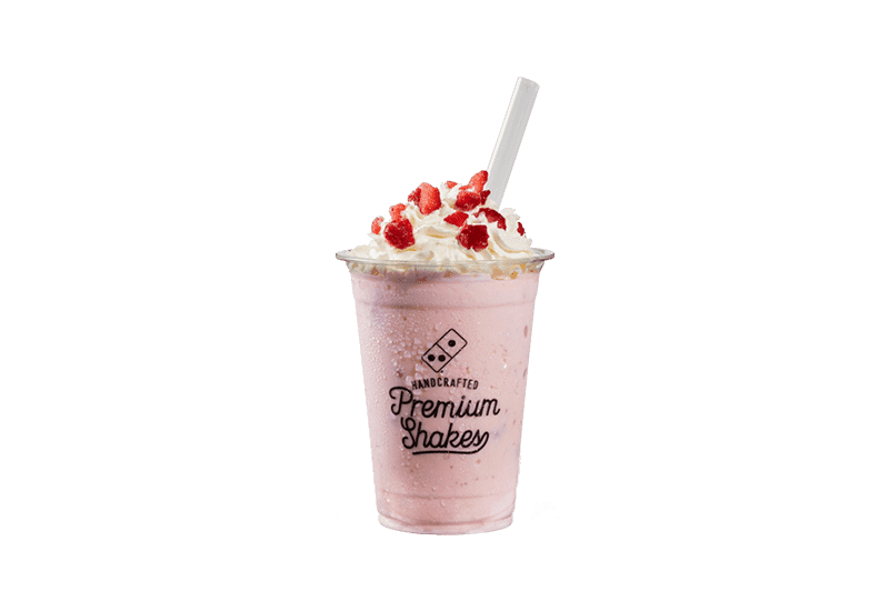THICK SHAKE Real Strawberry with Cream